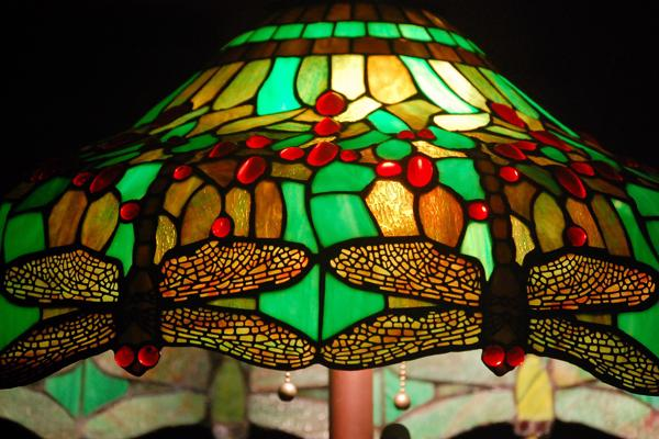 Tiffany Style Dragonfly Lamp